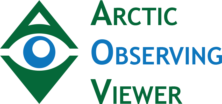 Arctic Observing Viewer Logo