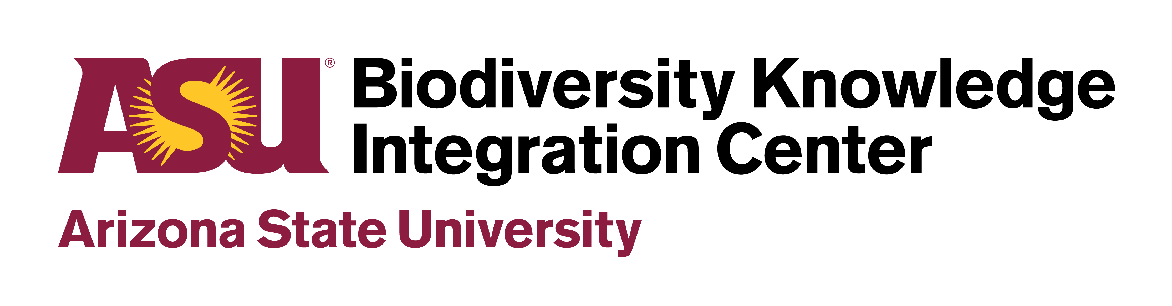 Arizona State University Biodiversity Knowledge Integration Center Logo